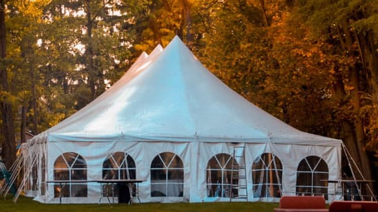 Why rent a tent?